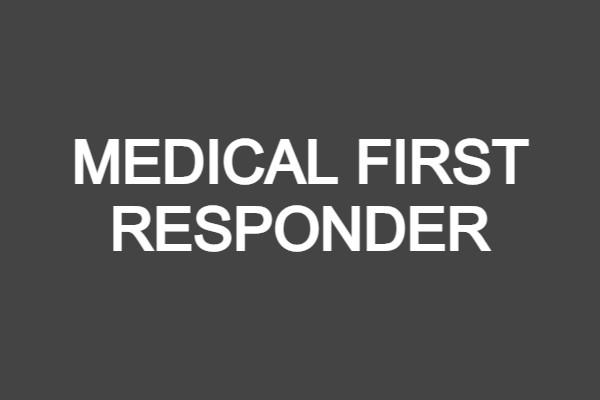 Medical First Responder